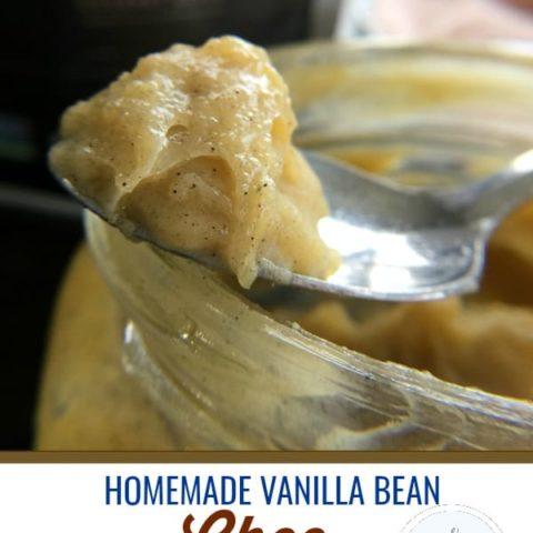 Vanilla Bean Sea Salt Ghee