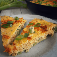 Buffalo Chicken Frittata | Paleo & Whole30