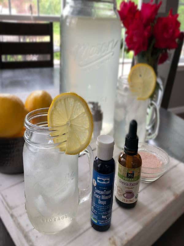 Homemade Electrolyte Lemonade Recipe Thyme + JOY