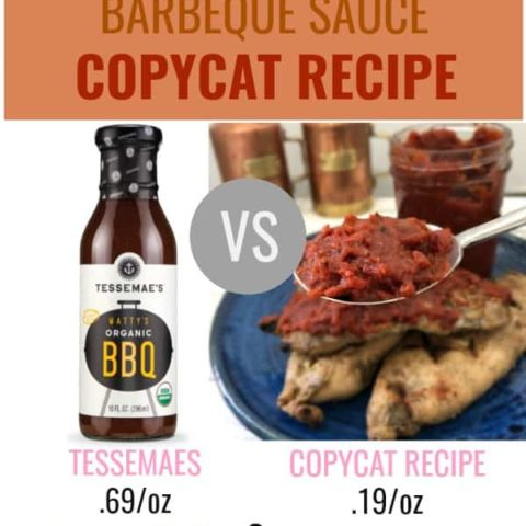 Whole30 BBQ Sauce | Tessemaes Copycat Recipe