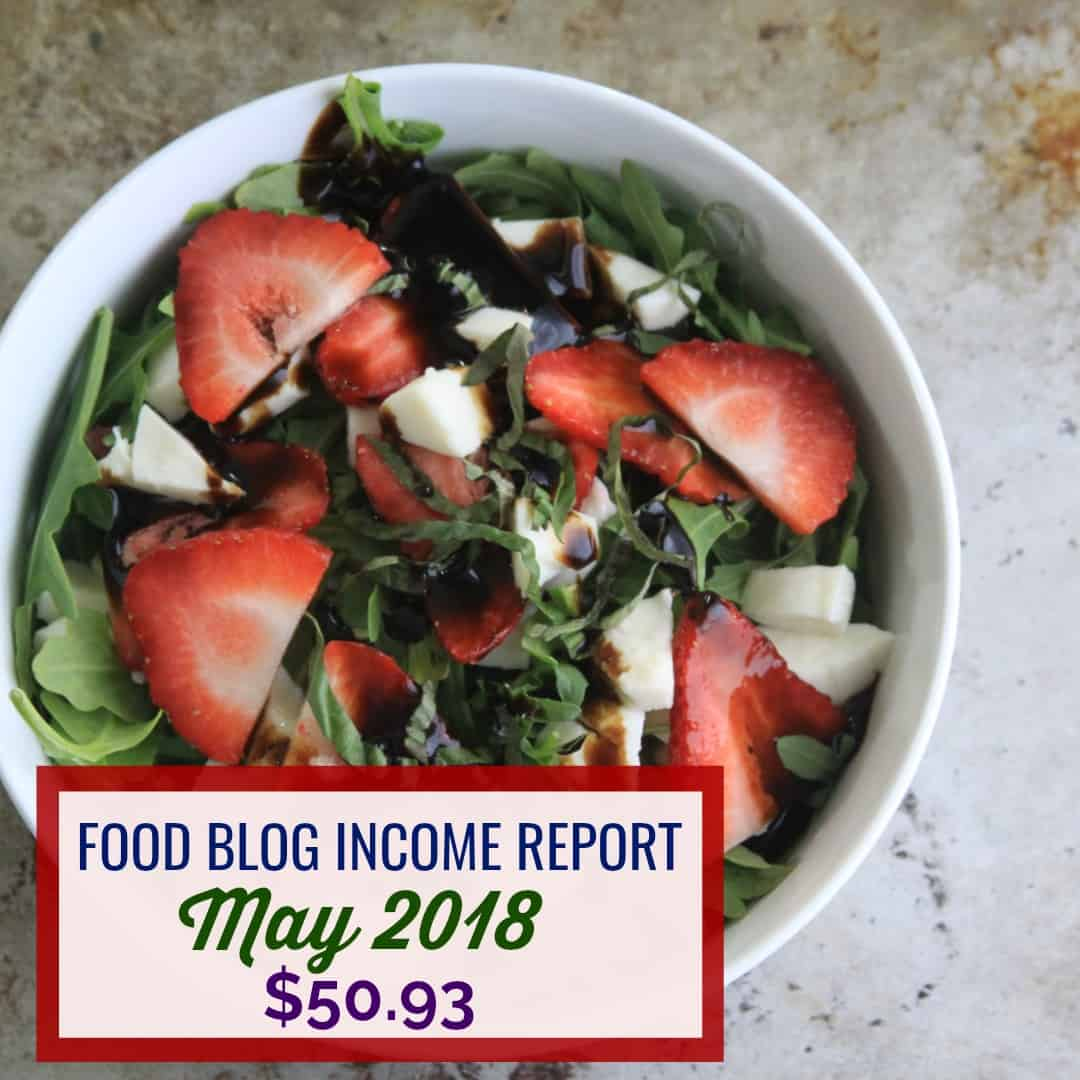 Blog Income Report May 2018