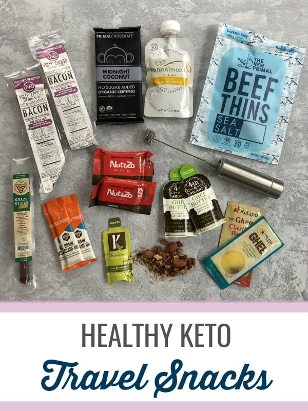 Keto Travel Snacks | Stay Healthy Anywhere You Go