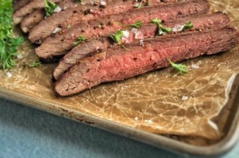 Reverse Sear Steak | Reverse Sear Flank Steak in Oven