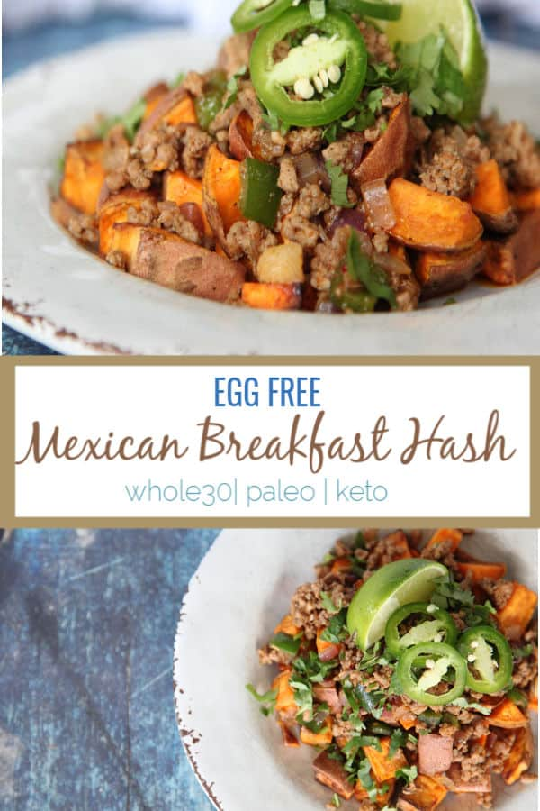 egg free breakfast mexican breakfast hash