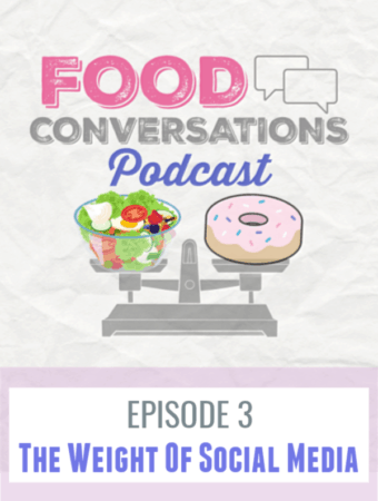Episode 3 - The Weight of Social Media In this episode we take a deep dive into social media as a tool for positive purpose or when it can become a negative entity in your life, especially in your relationship to food or body image. #podcast #foodconversationspodcast