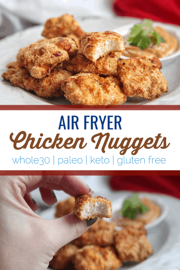 Air Fryer Chicken Nuggets Paleo Whole30 Keto