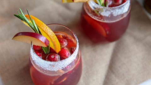 Christmas Punch | Holiday Mocktail or