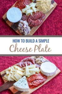 Cheese plates make a great visually appealing appetizer that caters to many tastes. This is how to make a simple cheese plate for a small gathering or party.