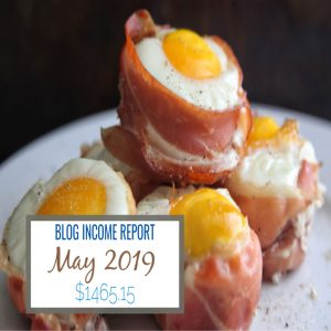 food blog income report may 2019