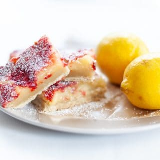 strawberry lemon bars gluten free