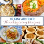 10 easy air fryer thanksgiving recipes
