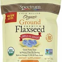 Spectrum Essentials Organic Ground Flaxseed, 24 oz