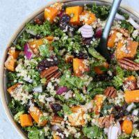 Roasted Butternut Squash Quinoa Salad
