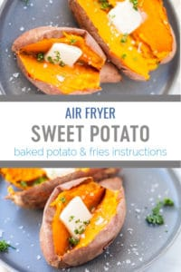 air fryer sweet potato