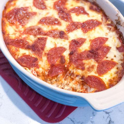 Keto Pizza Dip