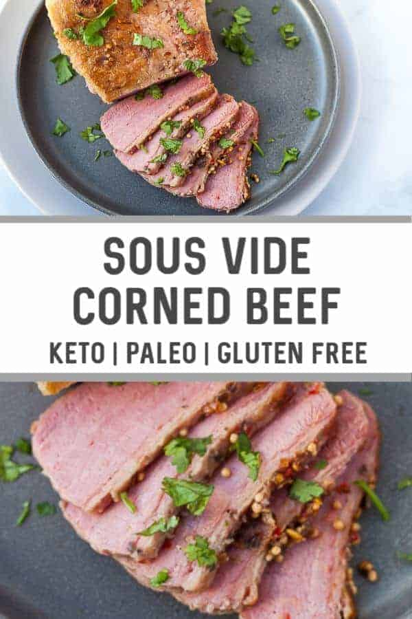 sous vide corned beef