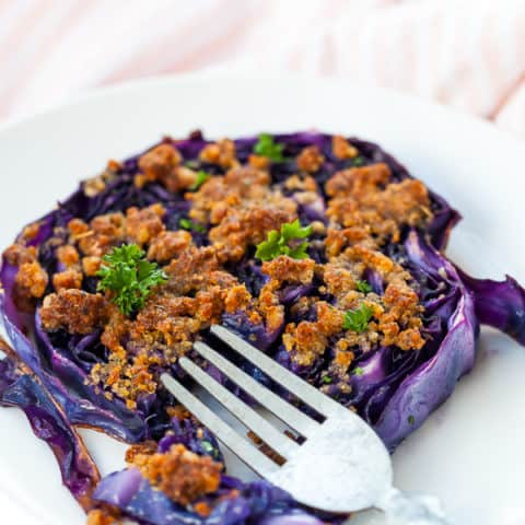Purple Cabbage Steaks
