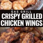 crispy grilled chicken wings pinterest