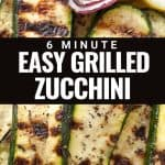 the best grilled zucchini