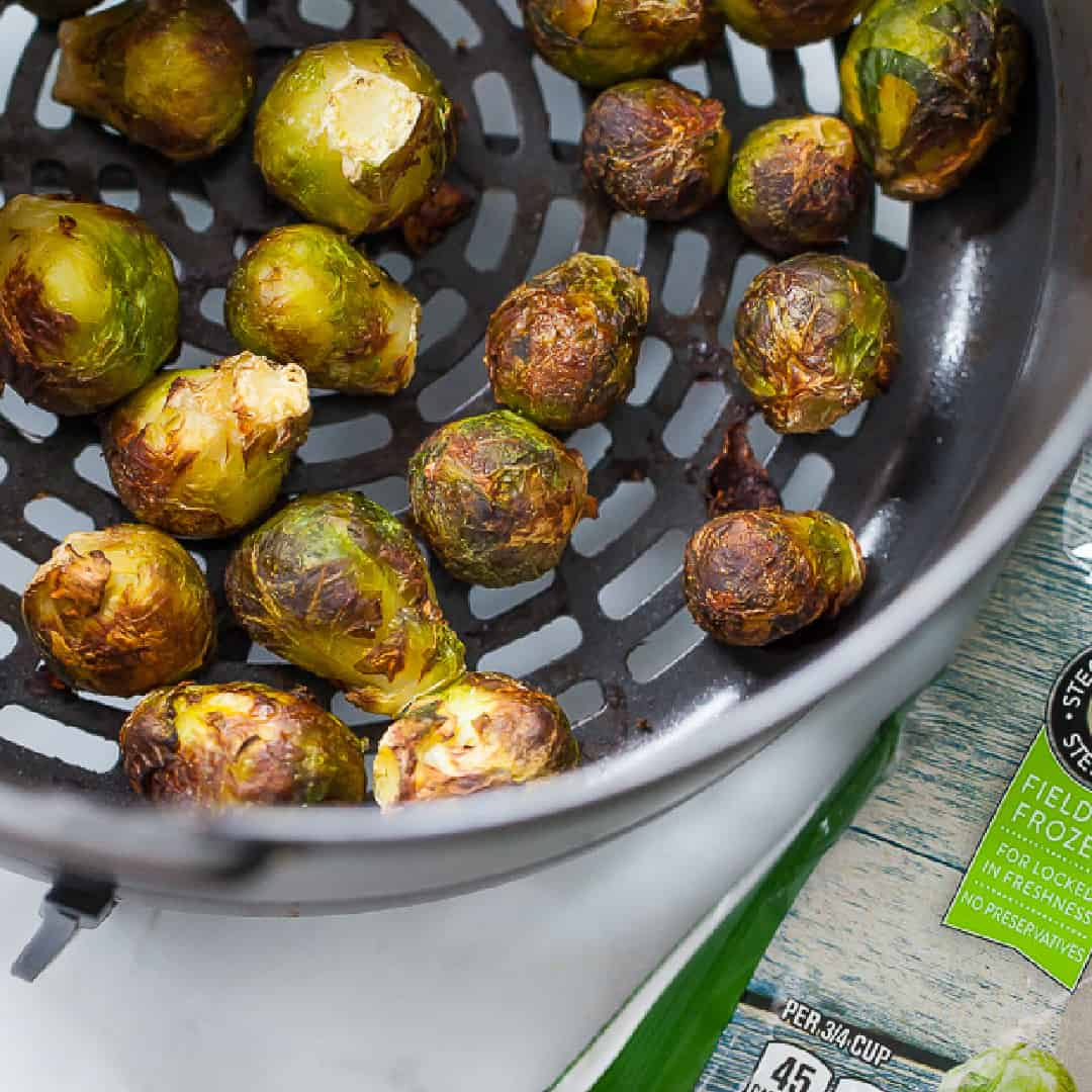 air fryer frozen brussels sprouts
