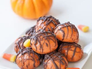 halloween butterfinger bites