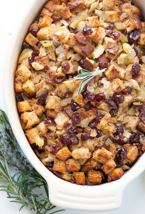 gluten free stuffing and herbs