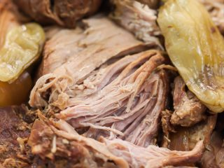 pulled pork roast