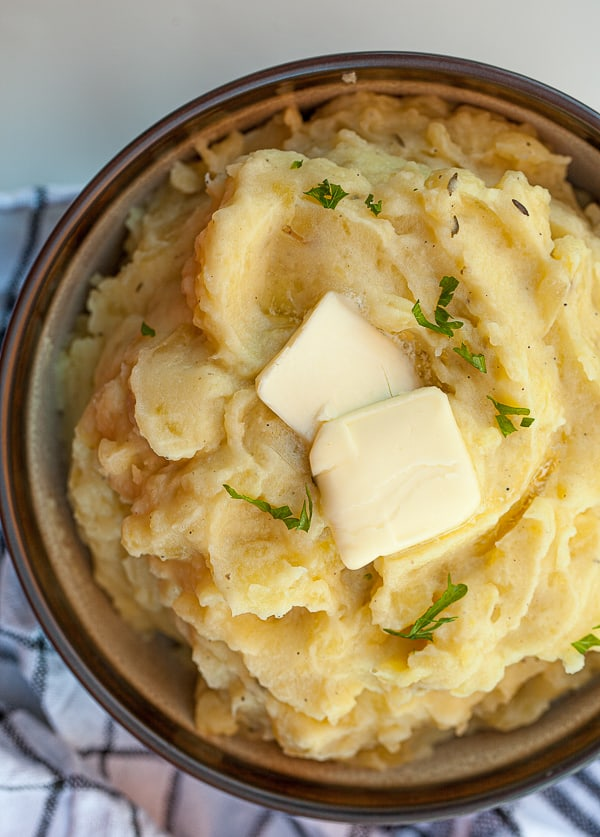 sous vide mashed potatoes