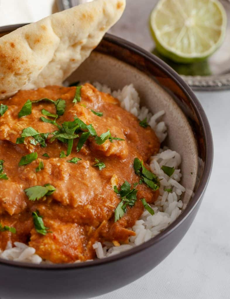 whole30 butter chicken in slow cooker
