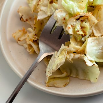 air fryer cabbage