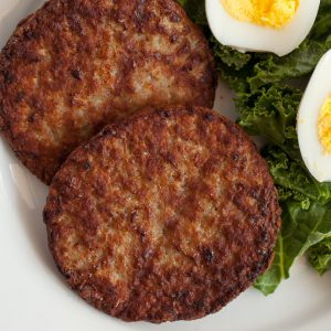air fryer frozen breakfast sausage patty