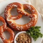 air fryer frozen pretzels
