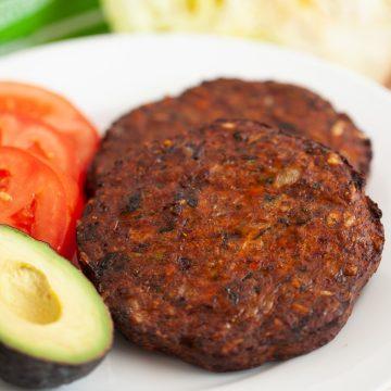 air fryer frozen veggie burgers