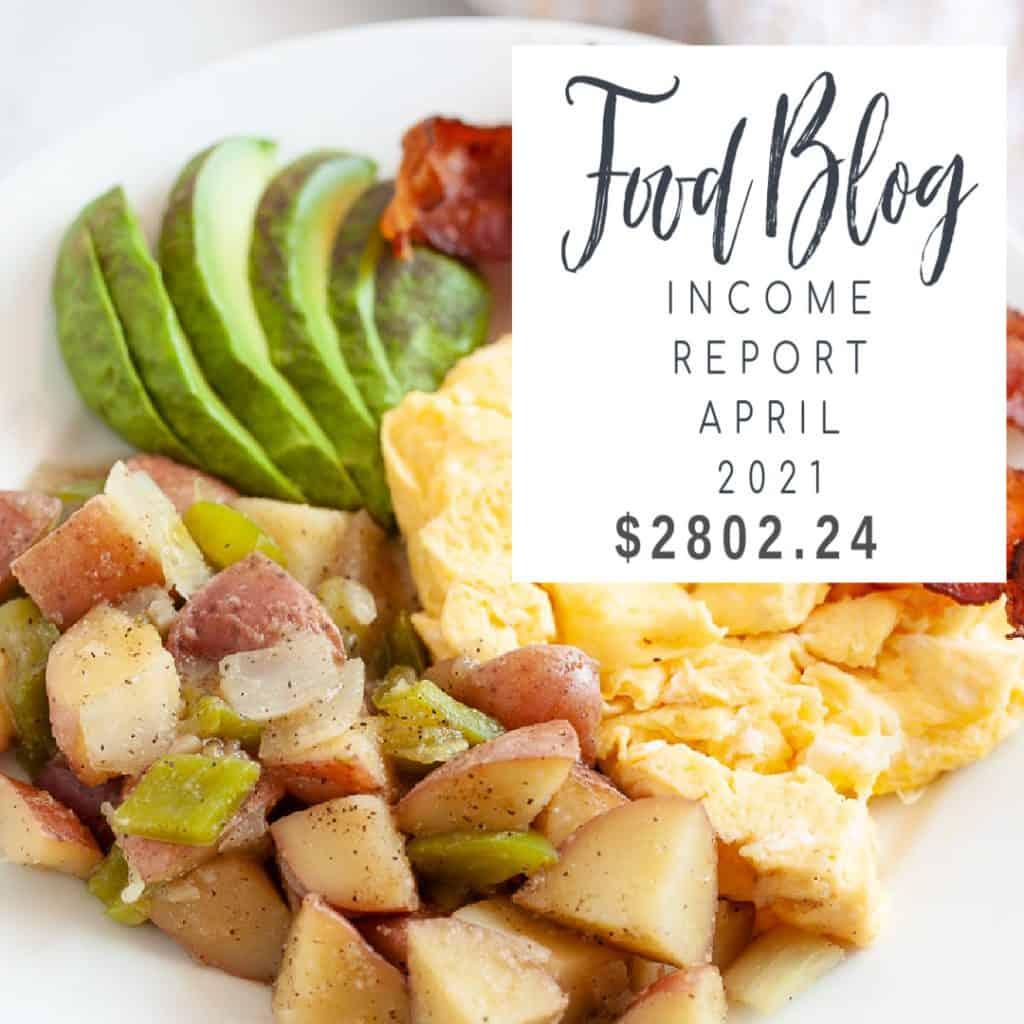 blog income report april 2021